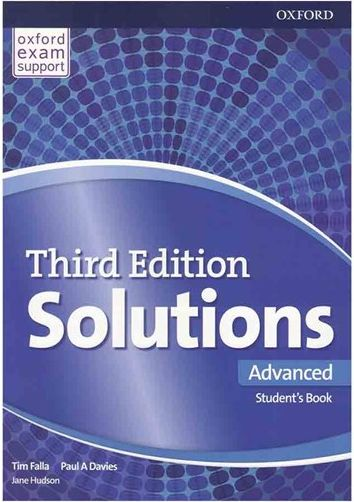 کتاب Solutions Advanced 3rd S B+W B+DVD