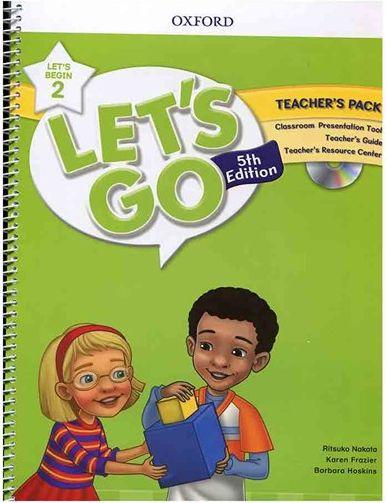 کتاب Lets Go Begin 5th 2 Teachers Pack +DVD
