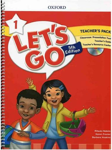کتاب Lets Go 5th 1 Teachers Pack + DVD