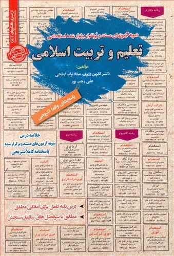 کتاب نمونه آزمونهای استخدامی تعلیم وتربیت اسلامی