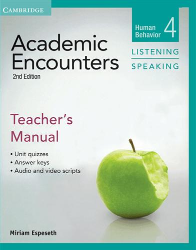 کتاب Academic Encounters 2nd4 Listening and Speaking Teachers Manual