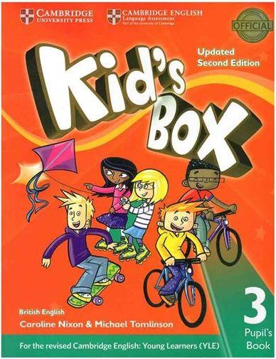 کتاب Kids Box 3 - Updated 2nd Edition SB+WB+CD