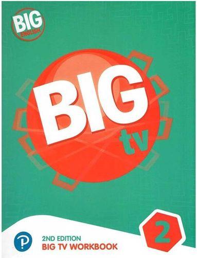 کتاب Big English 2 - Big TV Workbook 2nd +DVD