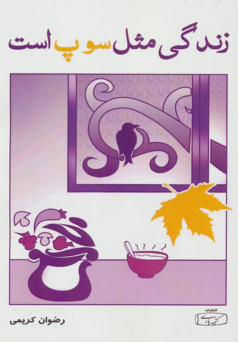 کتاب زندگی مثل سوپ است