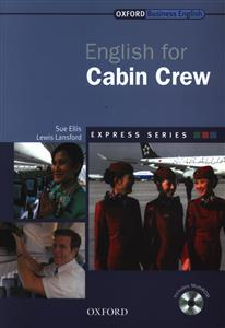 کتاب English for Cabin Crew +CD