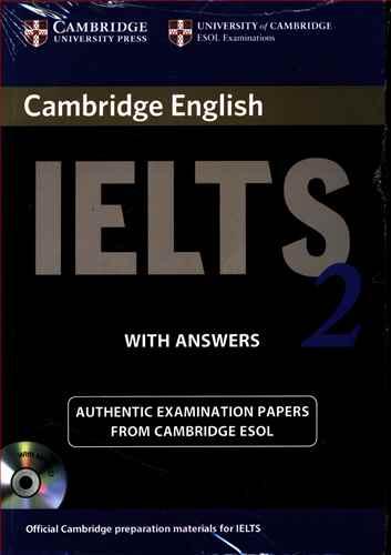 کتاب (Cambridge Ielts (۲