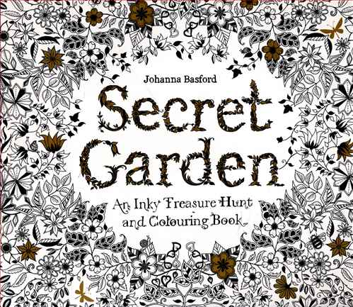 کتاب رنگ آمیزی بزرگسالان (secret garden)