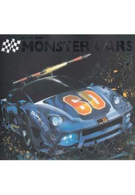 کتاب monster cars