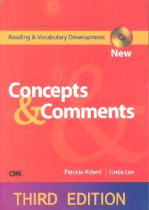 کتاب consepts & comments