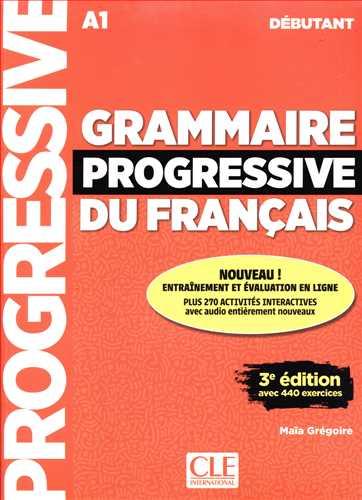کتاب Grammaire Progressive Du Francais (A1) (Deb