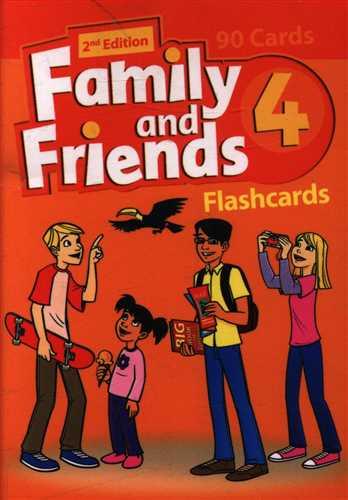 کتاب family and friends (۴) (فلش کارت) (جنگل)