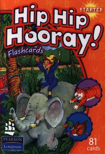 کتاب فلش کارت hip hip hooray (starter) (جنگل)
