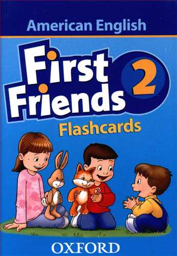 کتاب Flashcards American First Friends 2