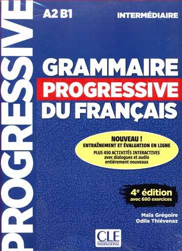 کتاب Grammaire Progressif Du Francais(A2/