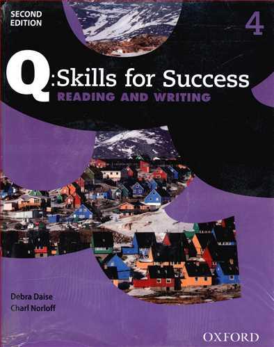 کتاب Q. Skill for Success (4) (Reading & WRiting)