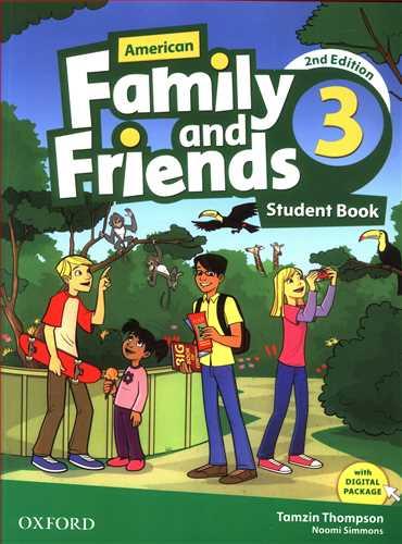 کتاب Family & Friends (۳ (ST + Cd) (american)