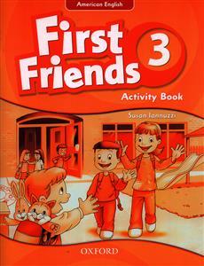 کتاب American English First Friends 3 ST+AB + CD