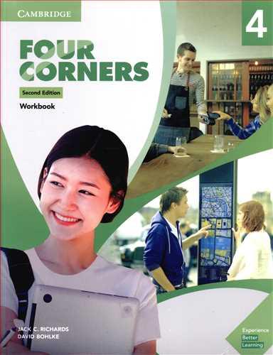 کتاب Four Corners (۴) (ST+WO) + CD