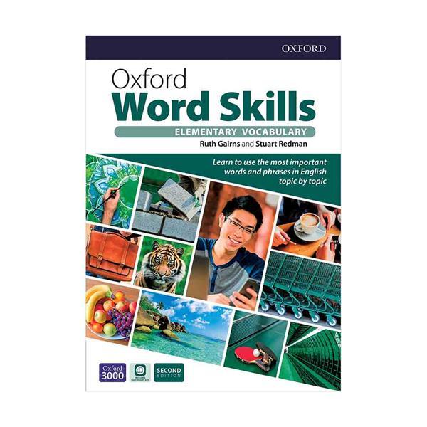 کتاب Oxford Word Skills 2nd Edition Elementary - Digest Size