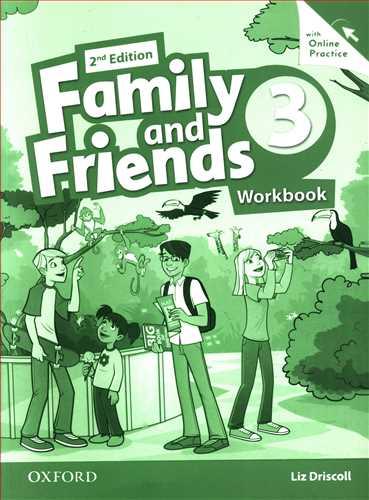کتاب family and frienfds (۳) (cl+cd)