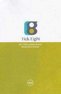 کتاب واژگان زبان آلمانی به روش TICK EIGHT