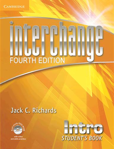 کتاب Interchange 4th Intro S+W+CD - Glossy Papers