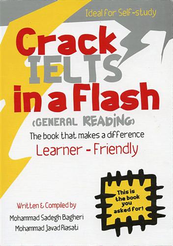 کتاب Crack IELTS in a flash (general reading)