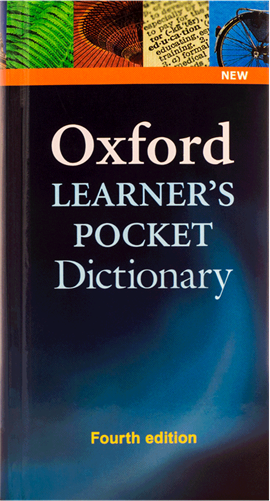 کتاب Oxford Learners Pocket Dictionary fourth edition