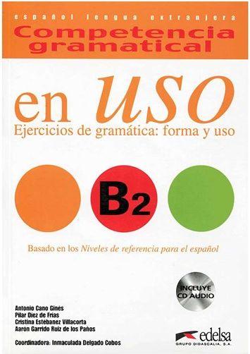 کتاب Competencia gramatical en USO B2