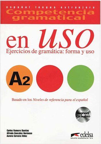 کتاب Competencia gramatical en USO A2