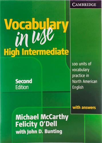 کتاب Vocabulary in Use High Intermediate with answers second edition