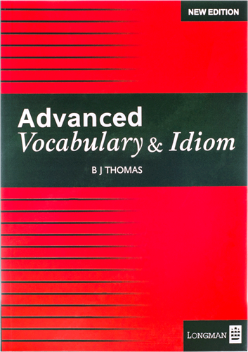 کتاب Advanced Vocabulary Bj Thomas