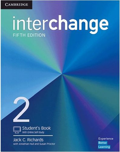 کتاب (وزیری) Interchange ۲ (5th) SB+WB+CD