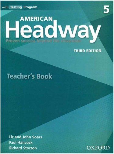 کتاب American Headway 5 (3rd) Teachers book