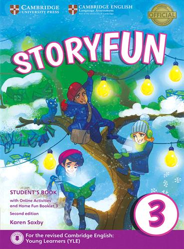 کتاب Storyfun for 3 Students Book+Home Fun Booklet 3+CD