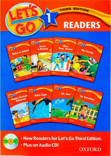 کتاب Lets Go 1 Readers Book 3rd