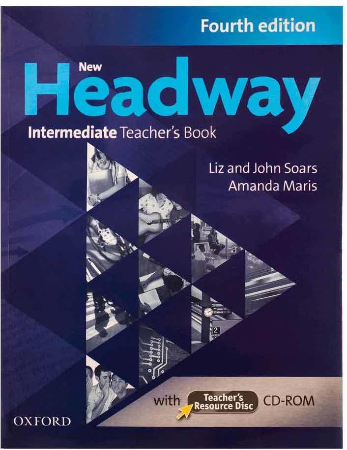 کتاب New Headway 4th Intermediate Teaches Book