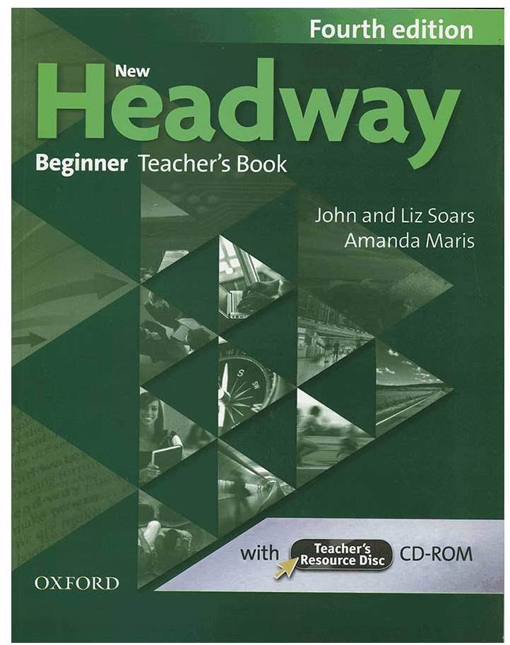 کتاب New Headway 4th Beginner Teaches Book