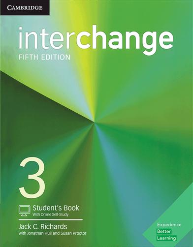 کتاب Interchange 5th 3 SB+WB+CD - Digest Size
