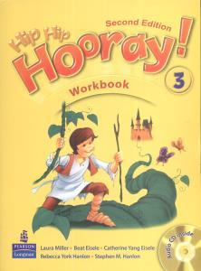 کتاب Hip Hip Hooray 2nd 3 Workbook