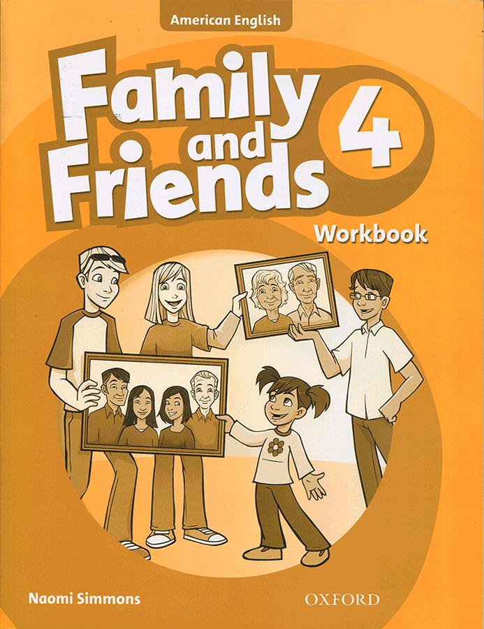 کتاب Family and Friends American English 4 Workbook