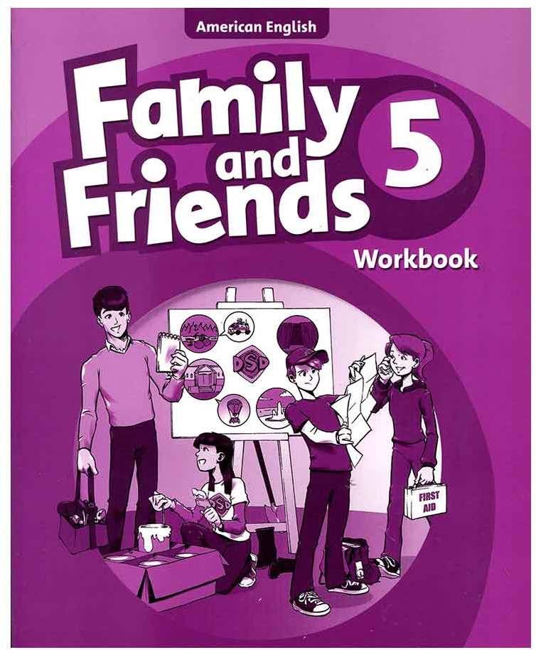 کتاب Family and Friends American 5 English Workbook
