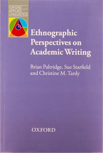 کتاب Ethnographic Perspective on Academic Writing-Paltridge