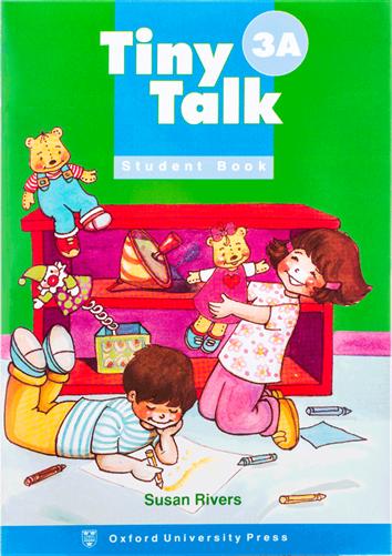 کتاب Tiny Talk 3A SB+WB+CD