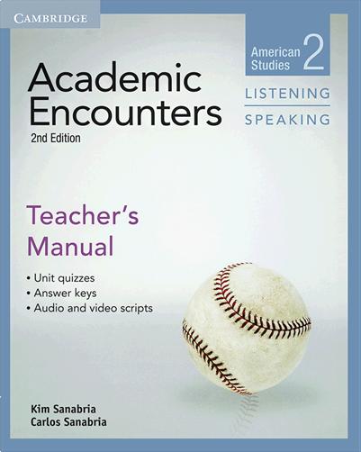 کتاب Academic Encounters 2nd 2 Listening and Speaking Teachers Manual