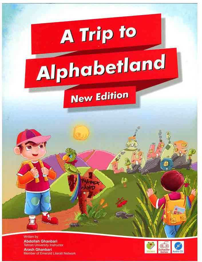 کتاب A Trip To Alphabet land New-CD