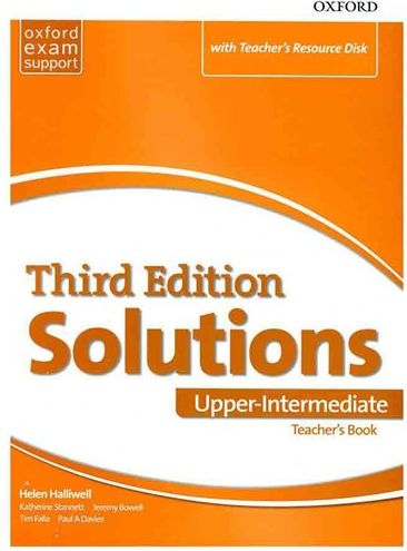 کتاب Teachers Book Solutions Upper Intermediate 3rd+CD